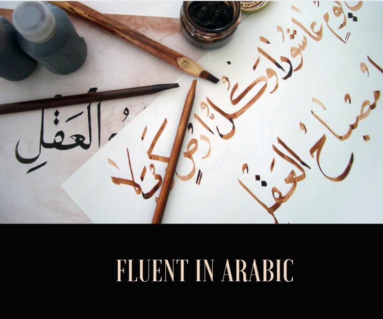 Fluency in Arabic language