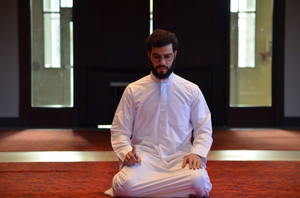 tashahud in salat prayer