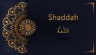 the shaddah in Arabic