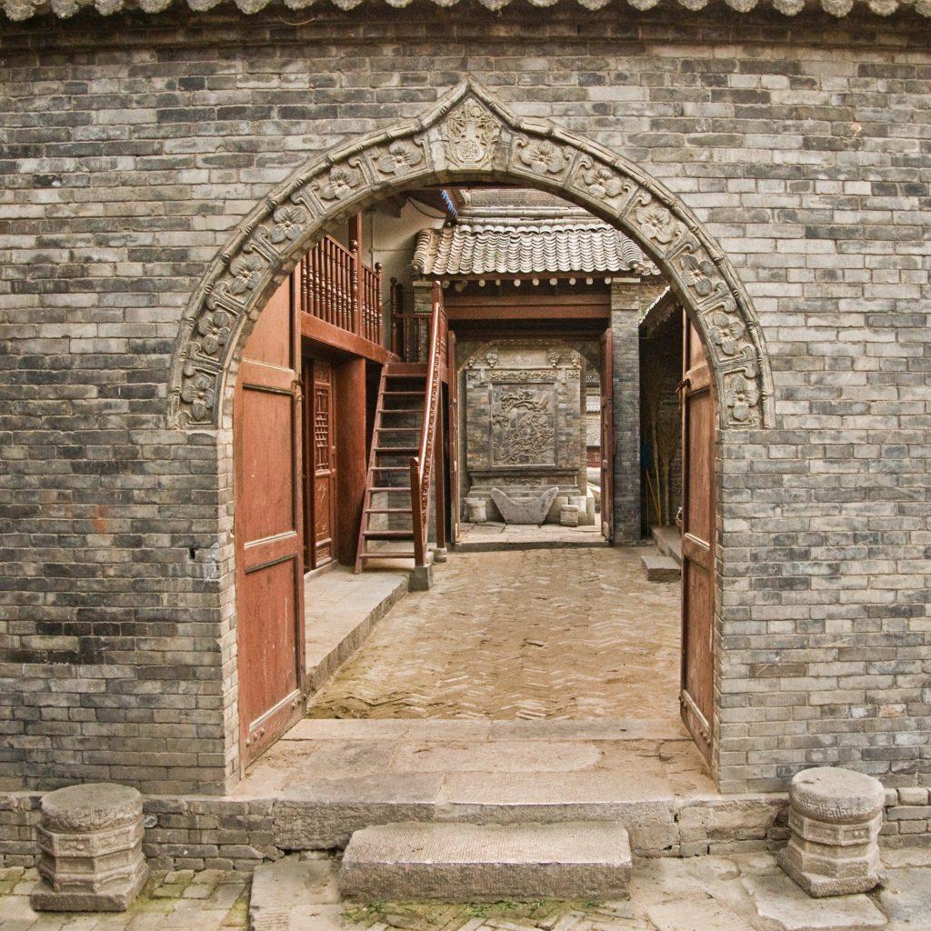 Xi'an mosque door