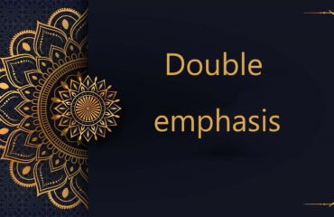 Double emphasis-Arabic free courses