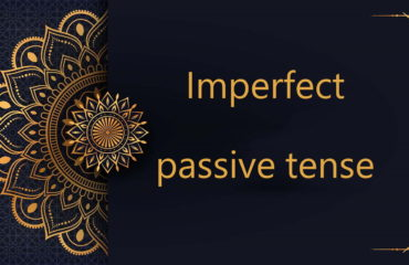 Imperfect passive tense - Arabic free courses