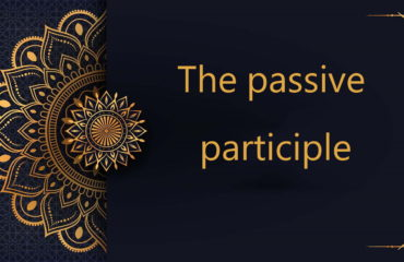 the passive participle in Arabic | free arabic courses