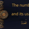 the numbers in Arabic
