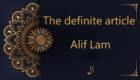 The definite article Alif Lam   tajweed rules